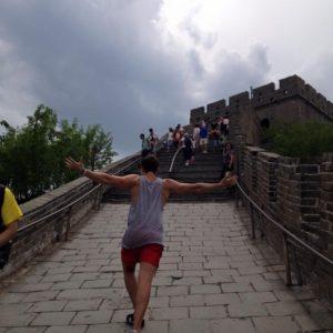Scaling the Great Wall at Badaling (八达岭长城)