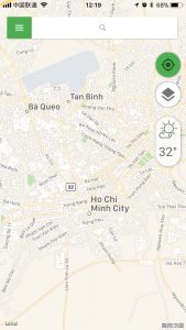 Coc Coc Map for Vietnam Travel