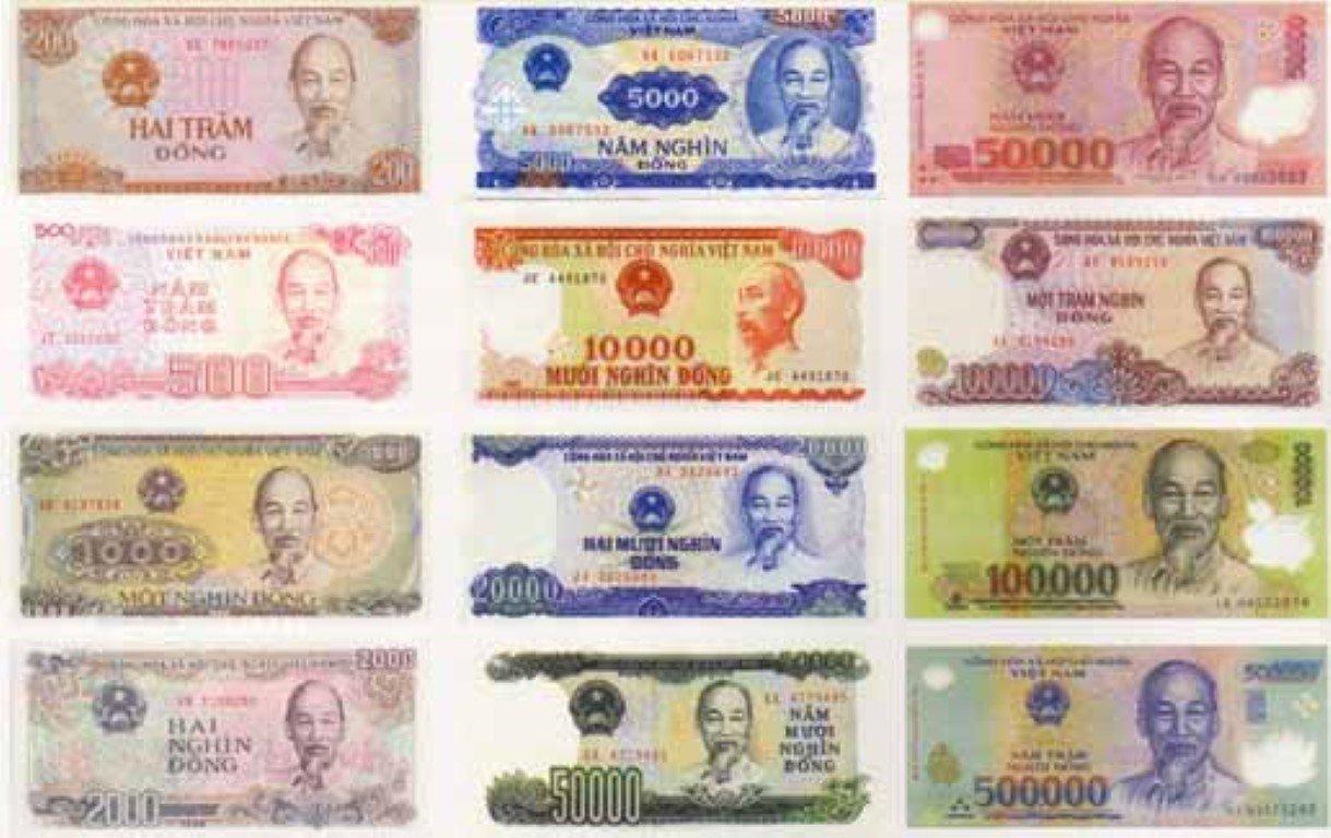 vietnamese bank notes money