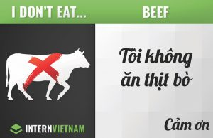 I don't eat beef
