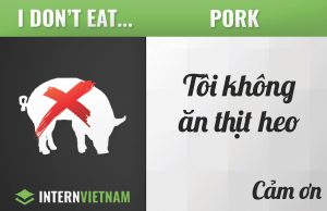 I don't eat pork