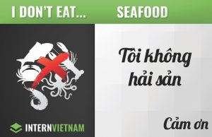 I don't eat seafood