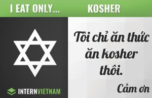 Only eat kosher