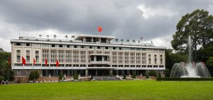 Exterior of the Reunification Palace