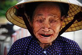 Smiling Vietnamese Woman