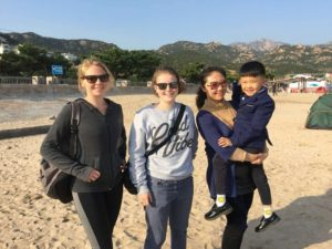 Homestay - Annaik with family in Laoshan