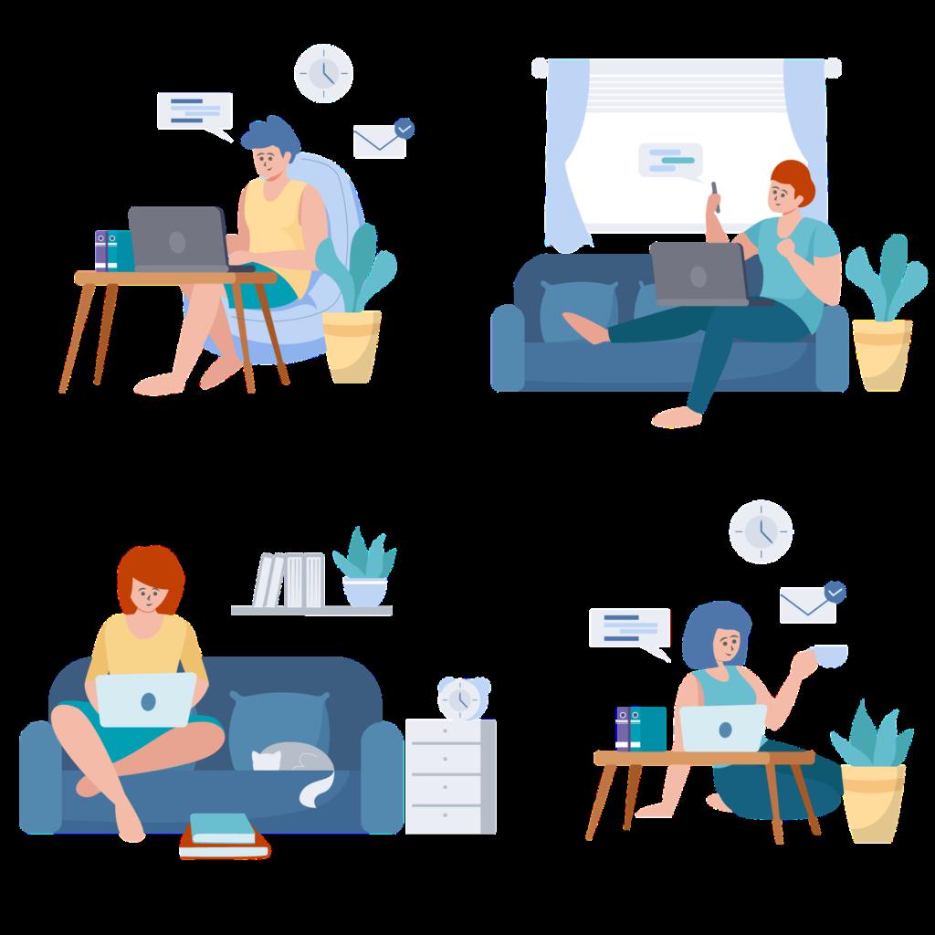 Remote internship - your office