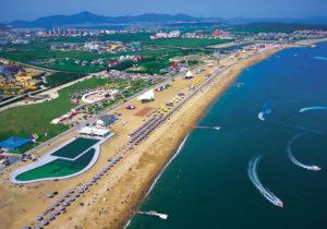Dalian's Golden Pebble Beach Jinshitan