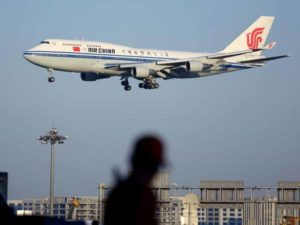 Air China Arrivals