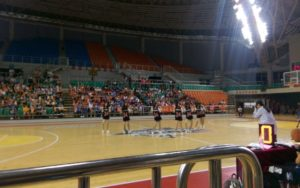 Basketball match at Qingdao University