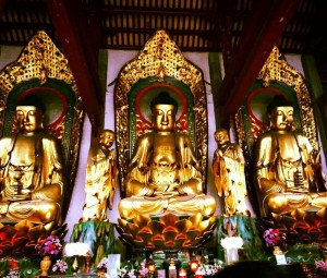 InternChina - Buddha statues in Nanhua Temple