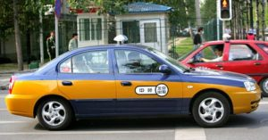 InternChina - Taxi en Chine