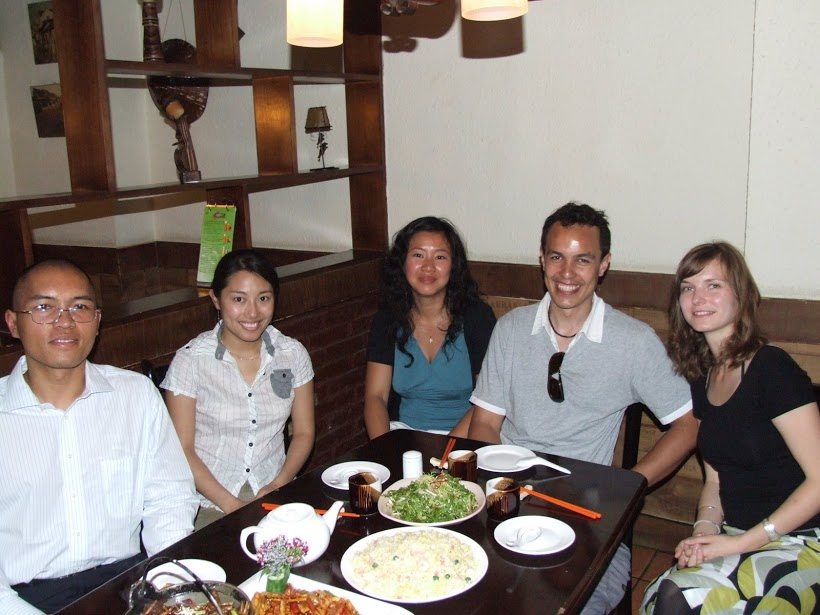 InternChina - Team in 2009 in Qingdao