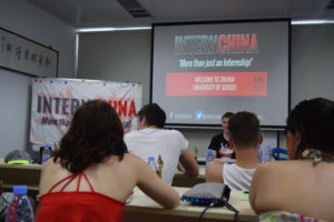 InternChina - Sussex Orientation