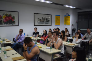 InternChina - Zhuhai partners and interns at seminar