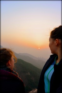 Sunrise from Fushan