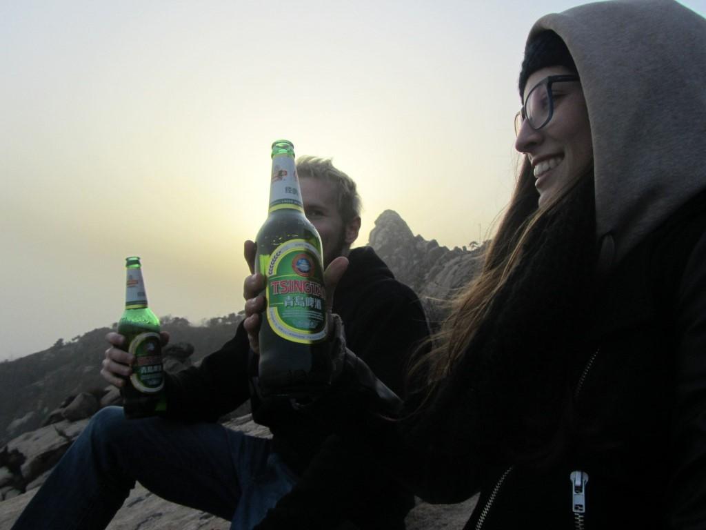 Victory Beer on Fushan