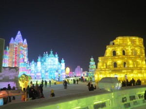 InternChina - Harbin's Ice Festival