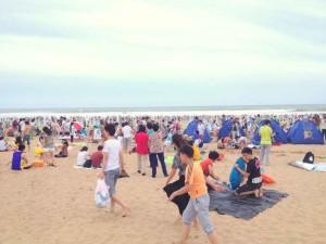 Weekend activities in Qingdao