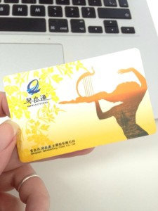 InternChina - Bus card