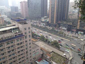 InternChina - view from our office