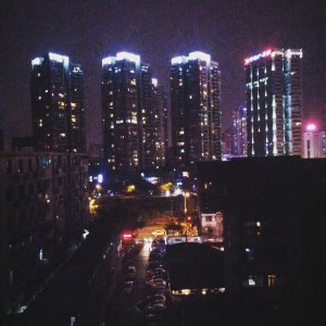 InternChina - Chengdu by night