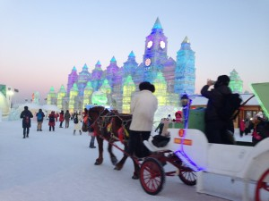Intern China-Harbin Ice and Snow World 哈尔滨冰雪大世界