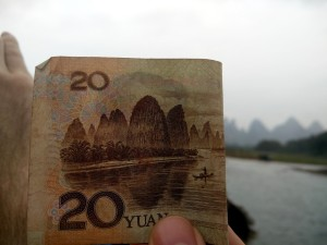 InternChina-20RMB-note-and-the-Li-River