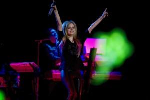 InternChina- Avril Lavigne performing in Beijing