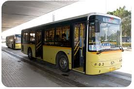 InternChina - Bus in Zhuhai