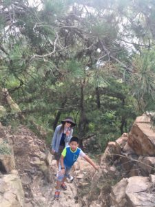 InternChina - Climbing Fushan