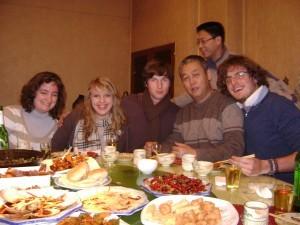 Dinner in Qingdao