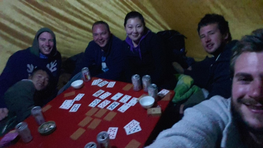 InternChina - Drinking games in a yurt!