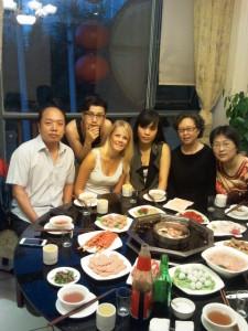 InternChina-Hotpot-dinner-with-my-Chengdu-host-family