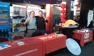 InternChina - IC Exhibition Stand at UCLan