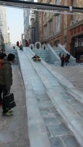 InternChina-Ice-slide!