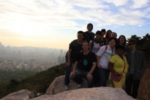 InternChina-On-top-of-Fushan-in-Qingdao