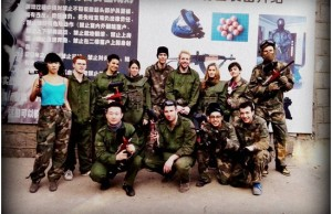 InternChina - Paintball hit squad