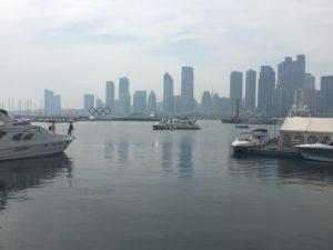 InternChina- Qingdao Harbour