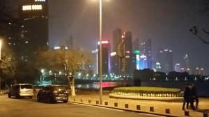 InternChina- Skyline in the night