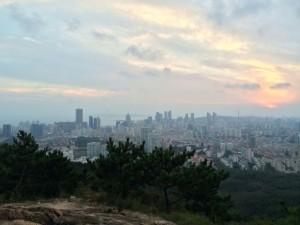 InternChina-View-of-Qingdao-from-FuShan