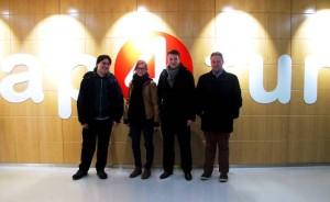 InternChina staff with interns