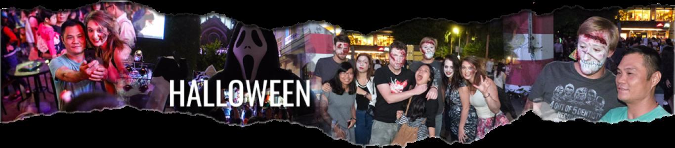 Internchina Halloween trip to Foshan