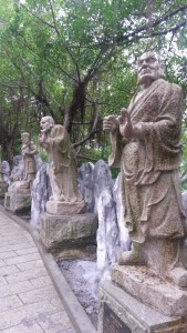 InternChina - Statues at Jintai Temple
