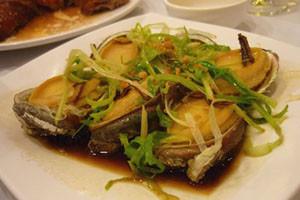InternChina - Steamed Abalone