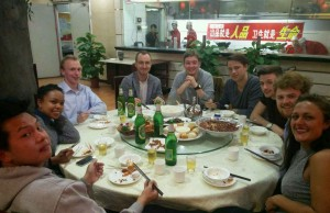 InternChina - Leaving Dinner in Zhuhai