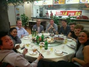 InternChina - Leaving Dinner in Zhuhai