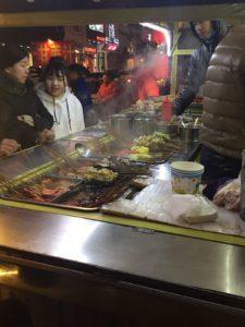 steam kitchen on the night market