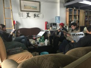 REDSTAR - Reading the Qingdao based magazine !