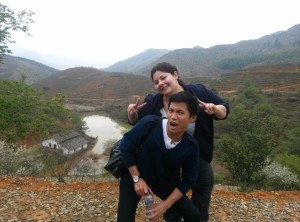 InternChina - Exploring Sakura Valley with two of the interns
